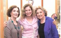 Com Aracy Cardoso e Eva Vilma - Mãe de Coração e na Arte